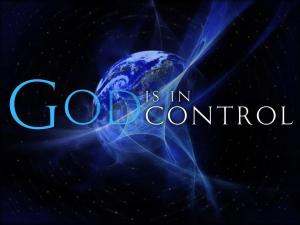 Is It Not Good To Know That GOD IS In Control